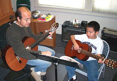 Guitar classes in Alhambra CA
